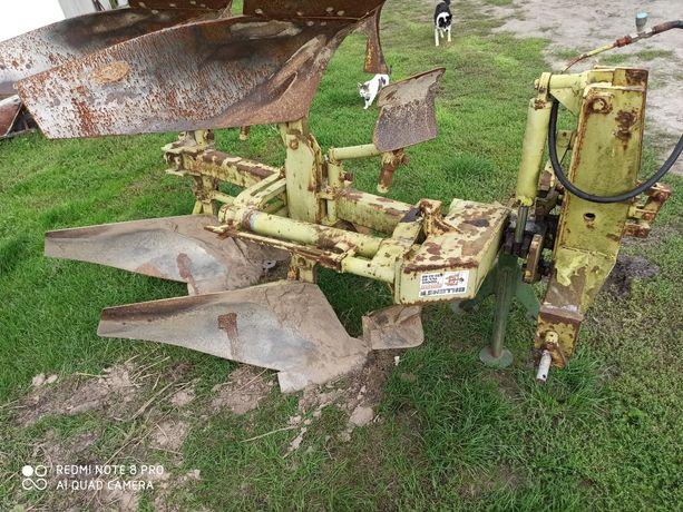 Pług obrotowy dwu Skibowy, maszyny rolnicze