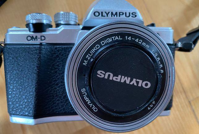 Olympus OM-D E-M10 mark II + 3 obiektywy, 2 baterie, torba