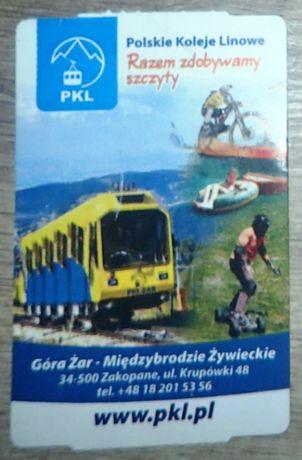 Bilet kolekcjonerski: PKL Góra Żar - Międzybrodzie Żywieckie