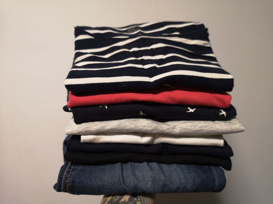 Ubrania ciążowe H&M Mama r. 34 XS koszulki, bluzka, jeansy Warszawa - image 1