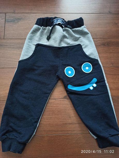 Spodenki dresiki dres dla chlopca spodnie