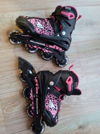 Rolki dziewczęce Rollerblade roz.33-38