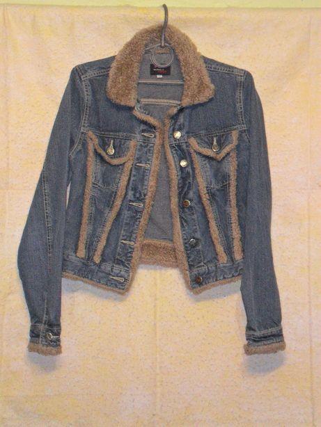 Куртка джинс Double Face р 44