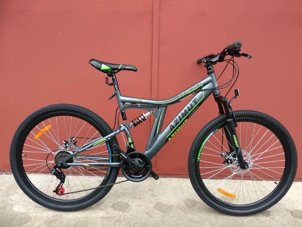 Спортивный горный велосипед Azimut Blackmount 26 дюймы + подарок