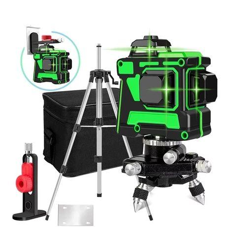 Poziomica Laser, 3x360 ° plaszczyznowy, NOWY