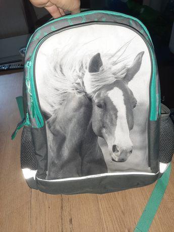 Sprzedam plecak z koniem usztywniany i worek do stroju