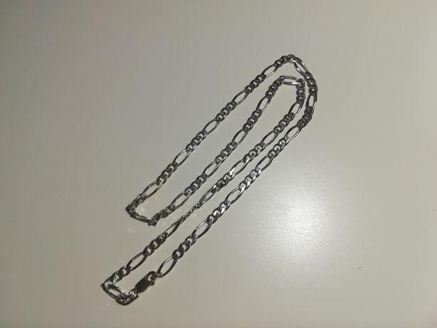 Srebrny łańcuszek 15.6g jak nowy srebro 925