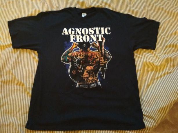 T-shirt koszulka Agnostic Front hard core punk rock oryginał