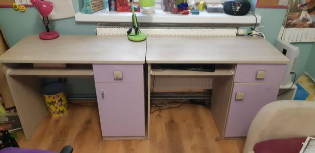 Sprzedam biurka z wysuwaną półką