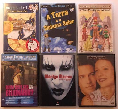 Dvd Lote - filmes / Musica /