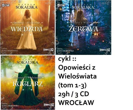 Audiobook CD mp3 CYKL :: Opowieści z Wieloświata tom 1-3