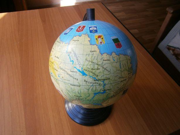 Глобус Украины, сувенир.