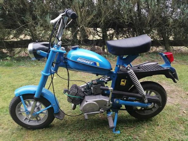 Motorynka Romet Pony 50 zarejestrowana