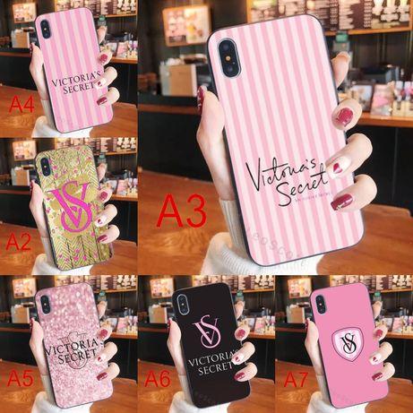 Victoria's Secret etui case Samsung Galaxy S8 S9 S10 S20 Plus A10 A70