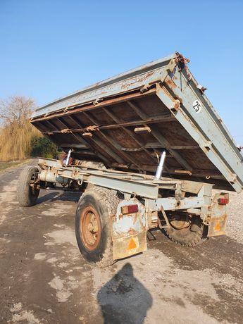 Przyczepa wywrotka hl 8011 hw 80 Niemka 8 ton sprowadzona bss
