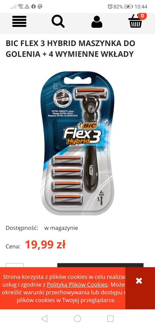 Big flex 3 maszynka +4 wklady