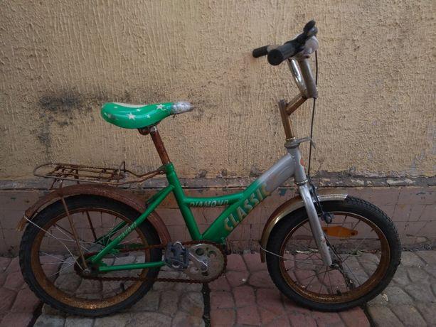 Велосипед детский 16 дюймов колеса
