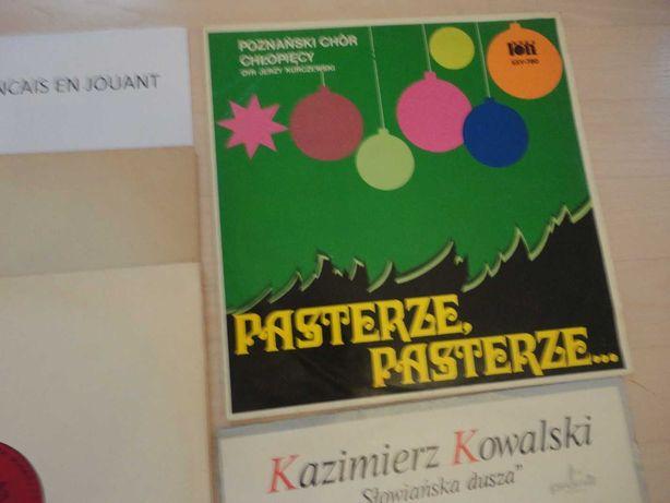 """Płyta winylowa LP kolędy """"Pasterze, pasterze"""" Poznański Chór Chłopięcy"""