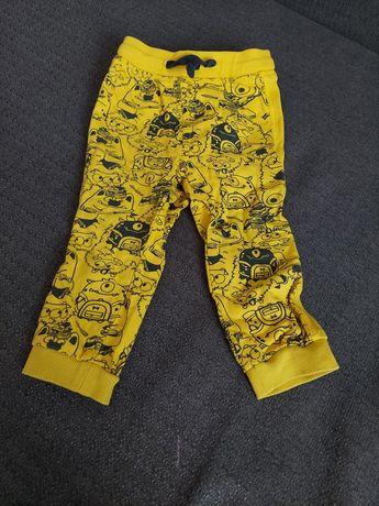 Spodnie chłopięce rozmiar 86 firmy pepco
