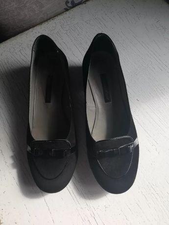 Продам туфли из натуральной замши