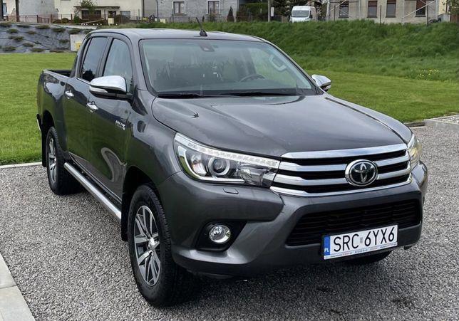 Do wynajęcia Toyota Hilux 2.4 diesel 4x4 automat HAK 3.5t.