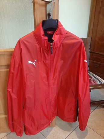 Czerwona kurtka deszczówka Puma XL