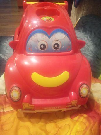 Samochód czerwony