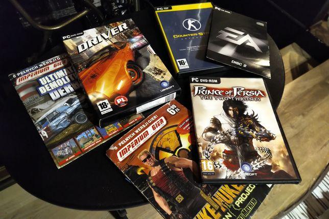 Gry PC Counter Strike NFS Driver Prince of Persja Dukenukem GTA vice C