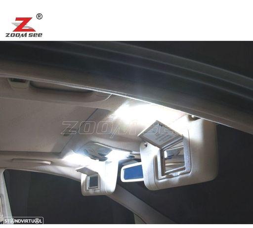 KIT COMPLETO DE 9 LÂMPADAS LED INTERIOR PARA MERCEDES BENZ CLASE C W202 C220 C230 C280 C43 AMG (199