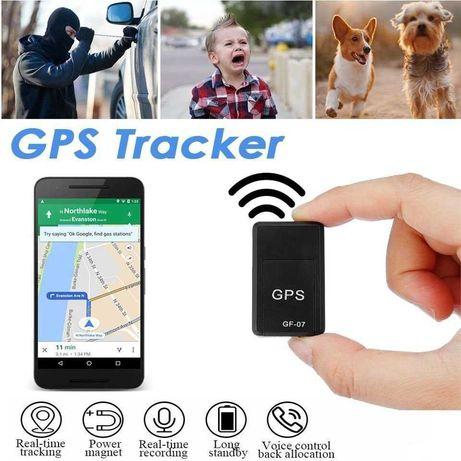 мини трекер GPS GF-07 с микрофоном. Маячек для детей