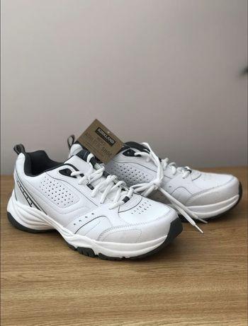 Кроссовки белые Kirkland мужские кожаные, размер 45