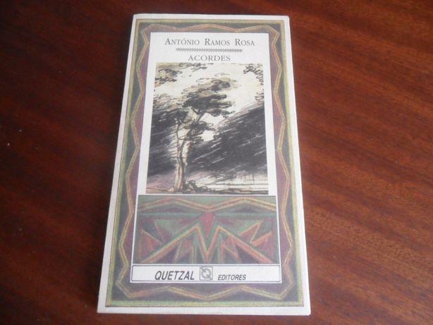 """""""Acordes"""" de António Ramos Rosa 1ª Edição de 1989"""