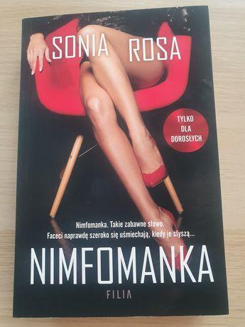 """Sprzedam książkę """"Nimfomanka"""" Sonia Rosa"""