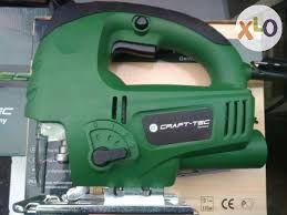 ГЕРМАНСКЫЙ Лобзик Craft-Tec PXGS-65 900W (усиленый круглый шток+лазер)