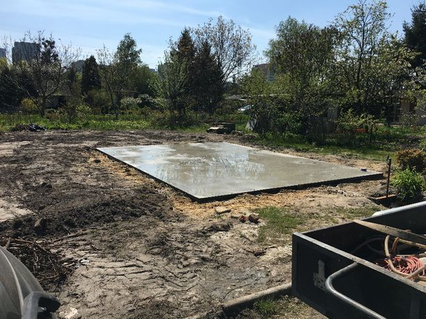 Niwelacje utwardzanie parkingi podbudowy fundamenty plyty budowa