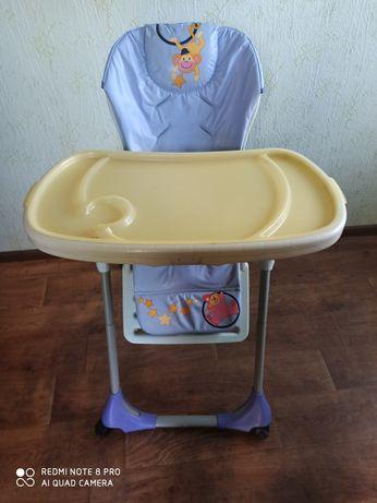 Продам стульчик chicco polly 3 в 1, в хорошем состоянии.