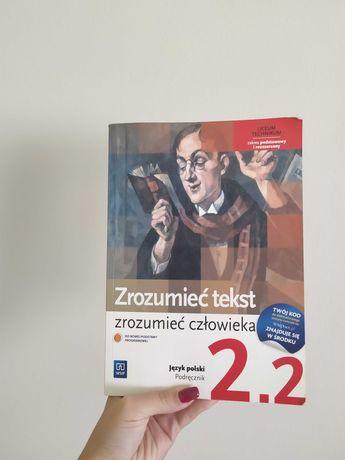 Zrozumieć tekst zrozumieć człowieka 2.2 podręcznik język polski