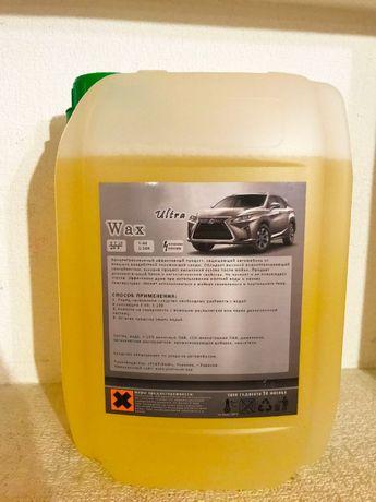 Холодный воск концентрат Wasx для защиты кузова от воды и грязи