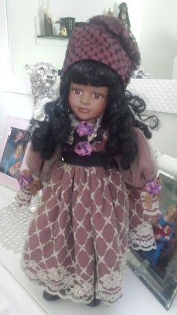Lalka porcelanowa cyganka