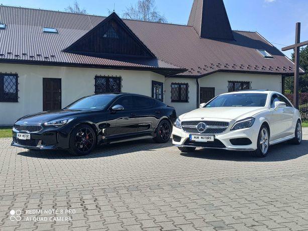 Wynajem Auto Na Wesela Kia Stinger GT Mercedes CLS AMG Black&White KRK