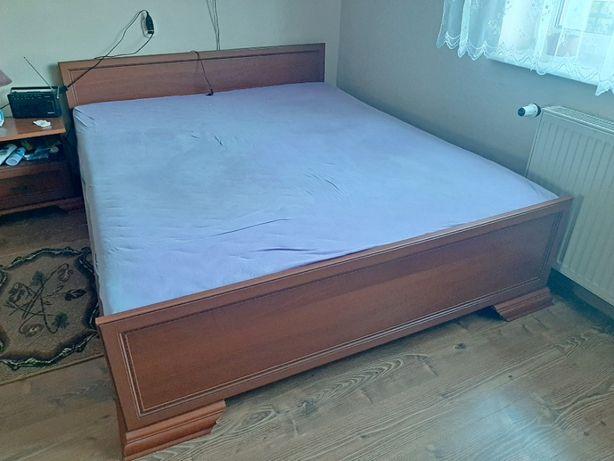 Łóżko do sypialni wraz z materacem