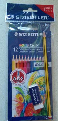 Карандаши цветные Германия Staedtler Noris club премиум класса