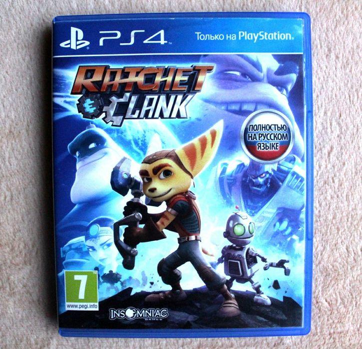 Диск PS4. Ratchet and Clank. Ratchet Clank. Русская версия.  Обмен. Киев - изображение 1