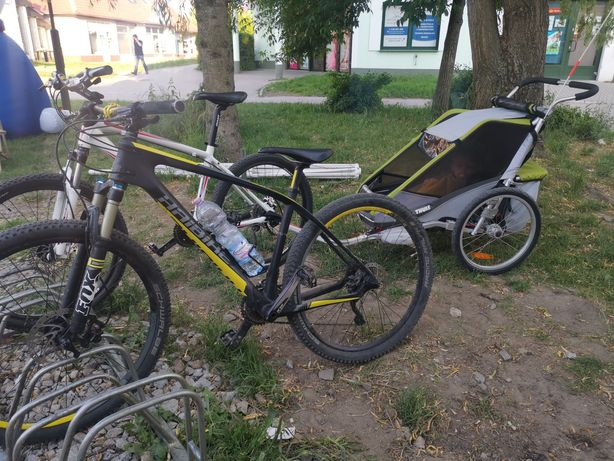 Wynajmę dwa rowery z przyczepką. Góry Sowie. Walbrzych. Chełmiec.