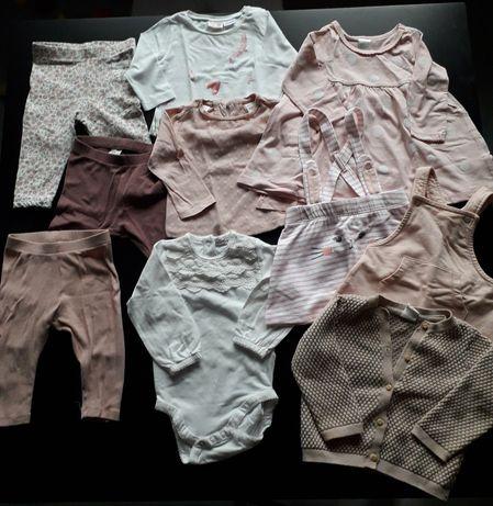 Mega paka ubranek dla dziewczynki 68 Newbie Zara HM