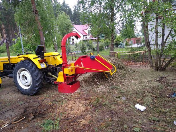Wycinanie drzew,rębakowanie gałęzi, wykaszanie trawy, rębak usługi