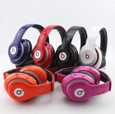 Наушники беспроводные Bluetooth Monster Beats с Мощным Звуком mp3+FM.