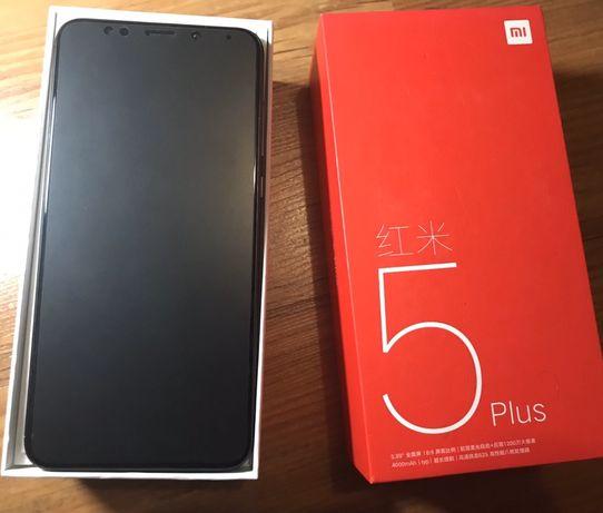 """Xiaomi Redmi 5 Plus 5,99"""" 3/32 Black Новый!! + чехол"""