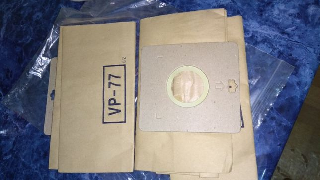 бумажный фильтр мешок пылесборник пылесос  самсунг VP-77