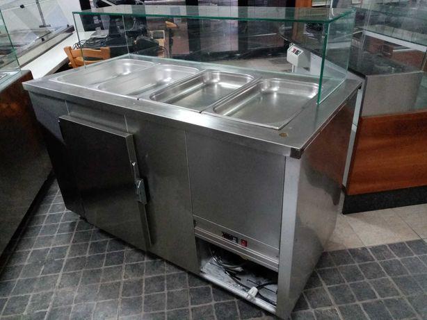 Saladete - Bancada Refrigerada c/ reserva ACM162 - Usado